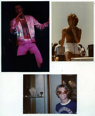 """*C438 POP STAR 3 SNAPSHOT 5"""" COLOR PHOTOS Singer Andy Gibb =BEE GEES="""