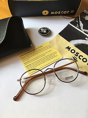 Moscot Zev Blonde/gold 46
