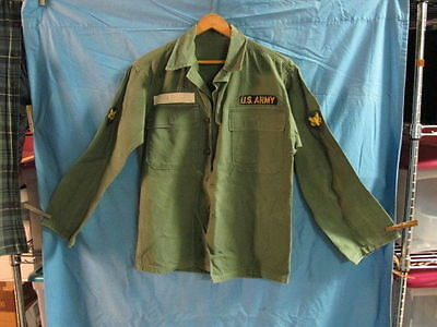1950's Army  Jacket Uniform with Patch