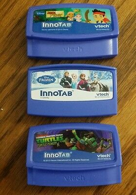 NEW VTech InnoTab Software: Frozen, Jake and TMNT