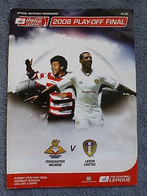 2008 League 1 Play Off Final Doncaster V Leeds Wembley