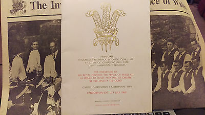 old news publications July 1969 investiture Prince of Wales