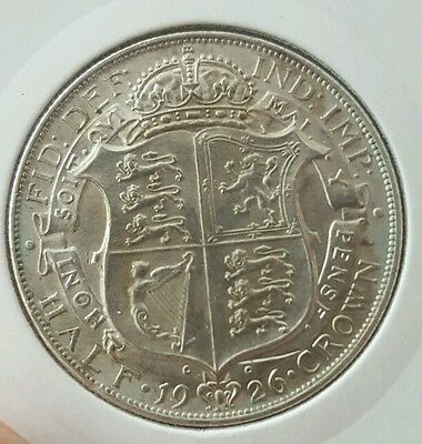 1926 Half Crown George V UNC