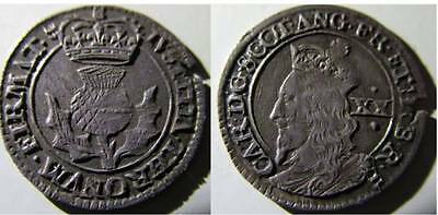 Charles I 20 Pence (S.5581) Scottish hammered coin (0001)