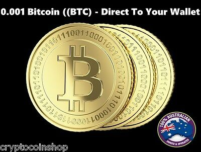 0.001 Bitcoin (BTC) - Mined Bitcoin - Direct To Your Wallet - By CryptoCoinShop