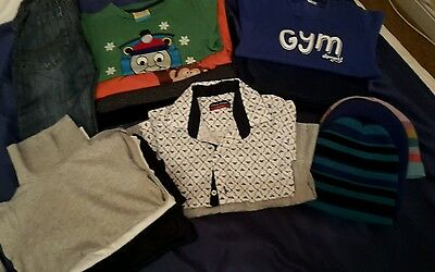 Boys clothes bundle 4-5 years ( 17 items )