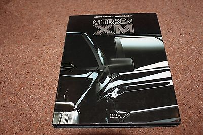 Citroen XM book by Alberto Martinez and Maurice Sauzay