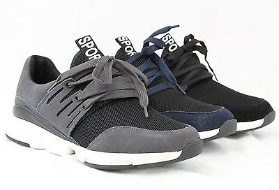 Men Sports Suede Retro Running Sneakers Casual Walking Fashion Shoes Breathable