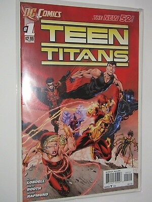 Teen Titans  Issues #1 AND #2 (2011 Series) , 1st Print , DC Comics New 52