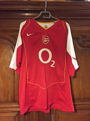 Maillot Thierry Henry Arsenal Nike XXL