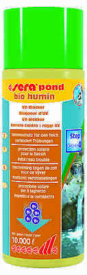 sera pond bio humin Protection solaire pour le bassin
