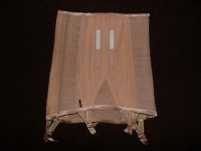 Vintage Scandale Beige  Stretchy Pull On Girdle Suspender Size 44 Fr 153094