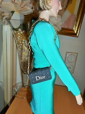A Purse For The Franklin Mint Princess Diana Vinyl Doll