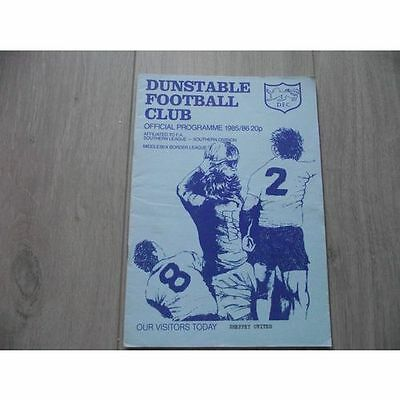 1985-86 Dunstable v Sheppey United - Southern League (Southern)