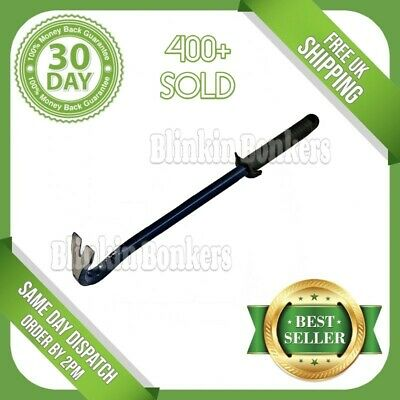 "12"" Long Floorboard Nail Lifter Puller Remover Pry Crow Jemmy Lever Bar Tool 18C"