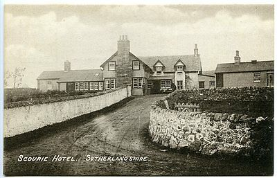 SCOURIE, Sutherland, Scourie Hotel, Publisher F. Swallow, Glasgow