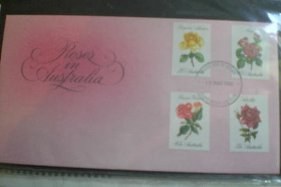 Australia-Roses In Australia 1982 First Day Cover 1982