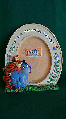 Disney Store ~ 'Simply Pooh' Photo Frame ~ 'So This Is What Smiling Feels Like'