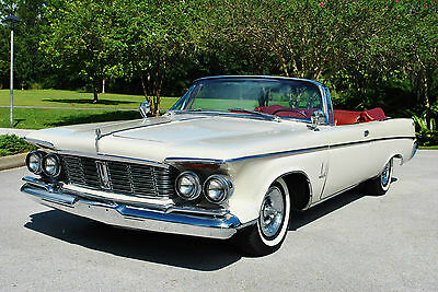 1963 Chrysler Imperial Convertible Factory A/C Convertible Push Button Shifter!  LOADED! 413 V8 TURN KEY CLASSIC