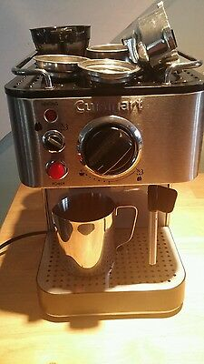 cuisinart em-100 1000-watt 15 bar espresso maker stainless steel