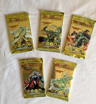 DUEL MASTERS evo-crushinators of doom LOT DE 5 BOOSTERS DE 10 cartes /REF DM-02