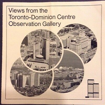 Views from the Toronto-Dominion Centre Observation Gallery