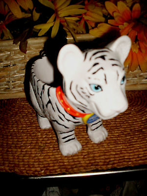 """The Greatest Show On Earth Plastic Tiger Mug/cup...6"""" Tall"""