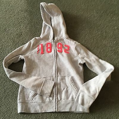 Girls Abercrombie & Fitch Hoodie Size S