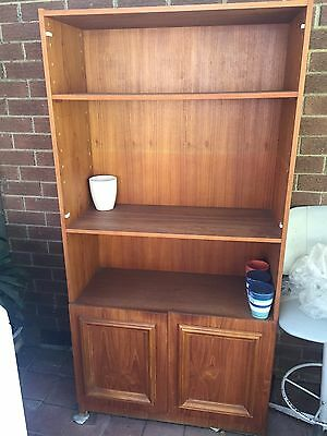 Cabinet, Book Case With 2 Doors