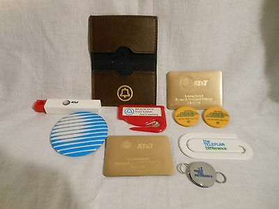 AT&T BELL Vintage Phone Company Vintage Advertising Lot of 10