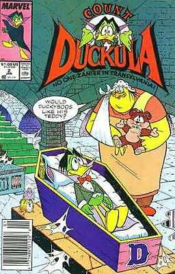 Count Duckula #2 in Very Fine + condition. FREE bag/board