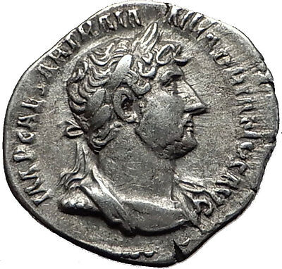 Hadrian  123AD Silver  Rare  Ancient Roman Coin Equality, conformity i58503