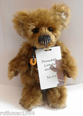 Charlie Bears FLUMMADIDDLE ~ 10th Anniversary 2015 Isabelle Lee Collection BNWT