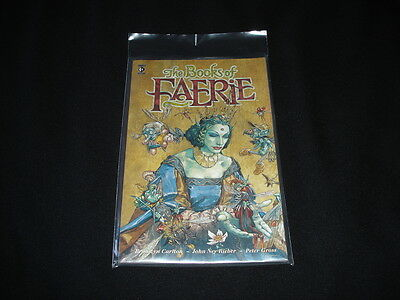 The Books Of Faerie - Graphic Novel - Brand New - Comic