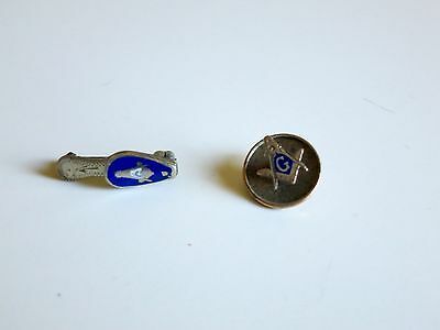 Pair of Vintage Masonic Pins- Excellent Condition!