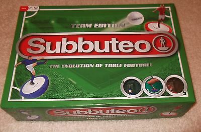 NEW Subbuteo Team Edition Football Table Evolution Of Soccer Game Complete Set