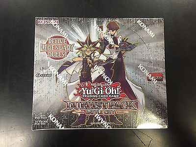 Yu-Gi-Oh! Battle City Duelist Pack 1st Edition Booster Box New Sealed Konami