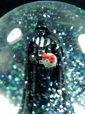 Star WARS DARTH Vader Christmas Snow Globe Musical Death Star Disney NWT