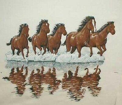 Wild Horses Ash Gray,Sand or pink T-shirt. New! Your Size!!