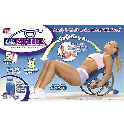 Bun and Thigh Roller - As seen on TV NEW IN OPEN BOX (NO VHS OR DVD)