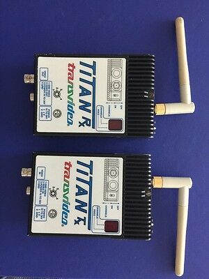 Transvideo Titan Transmitter And Receiver