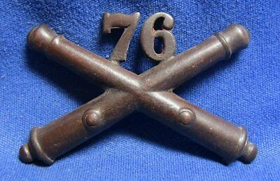 WWI 76th Field Artillery Officer Insignia SEW ON STYLE