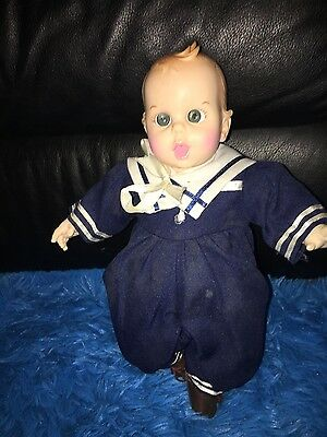 Vintage Gerber Baby Doll  12 Inches Cloth Body