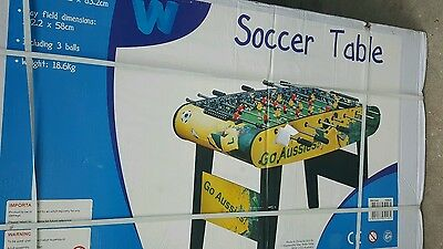 Foosball Table Toy/Game Kids Soccer/Football/Fussball Family