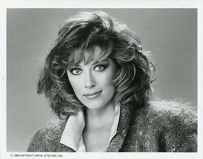 Nancy Stafford Pretty Portrait Sidekicks Original 1986 Abc Tv Photo
