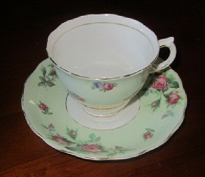 Vintage Colclough Bone China Cup and Saucer.