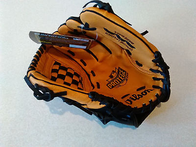 Wilson 11in Youth Baseball Mitt/Glove Leather Left Catch Right Handed Thrower