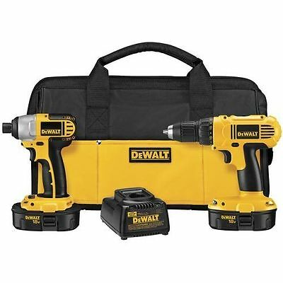 DEWALT 18V Compact Drill and Impact Driver Kit DCK235CR Reconditioned sq