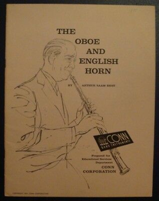 The Oboe and English Horn by Saam FREE SHIPPING!!