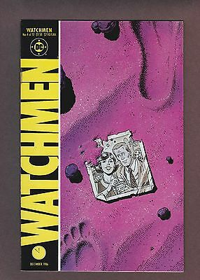 Watchmen #4 (1986) Moore, Gibbons, DC Rebirth, VF 8.0